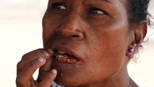 十年时间每天嚼五包槟榔,身体会发生什么变化?太吓人了!