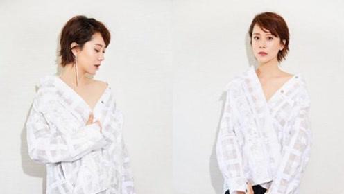 42岁海清又迎来一波小高峰,她这穿搭也是越来越时尚哦!