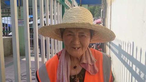 70岁环卫奶奶每天扫街16小时,供孙女上大学:还想让她考研