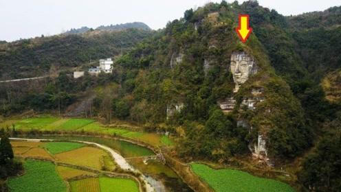 """贵州深山藏着一尊""""石佛"""",比乐山大佛高4米,受当地村民供奉!"""