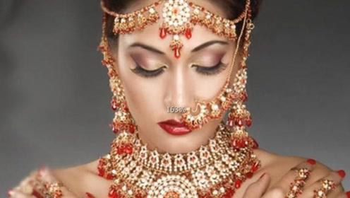 在印度如果看到戴鼻环的女人,千万躲远点、也不要给她们打招呼