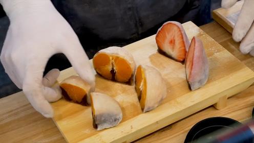 水果搭配年糕,韩国人又发明了新的吃法!