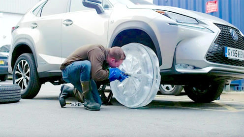 世界上最奇特的轮胎,用冰制作,而且还行驶了2公里