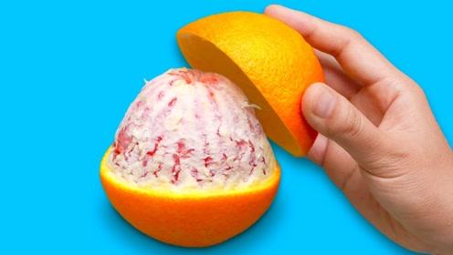 3个水果的小技巧,橙子皮还有这妙用,真的太棒了
