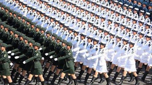 世界各国女兵阅兵:中国女兵压轴亮相,外国媒体直呼:电脑合成!