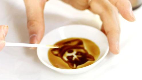 日本美到惊艳的小创意,看似普通的碟子,倒入酱油赏心悦目