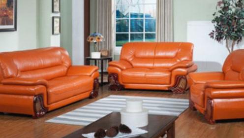 你家买皮沙发还是布沙发?多亏懂行人提醒,后悔知道晚了,别忽视