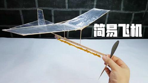 嫌竹蜻蜓挫的费劲?把它变成一架简易飞机吧,飞的又高又远