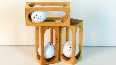 精致的高尔夫球笼,是怎么做成的呢?原来有这么个技巧