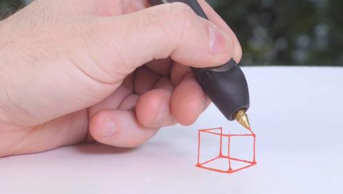 """现代版的""""神笔马良"""",依靠3D打印技术,能够在空中作画"""