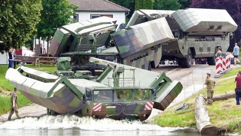 """军用卡车的功能有多强大?变身那一刻,我才知道啥叫""""变形金刚"""""""