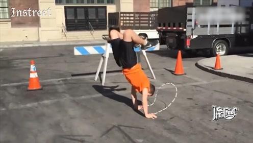 你见过倒立跳绳的吗?真的涨知识了