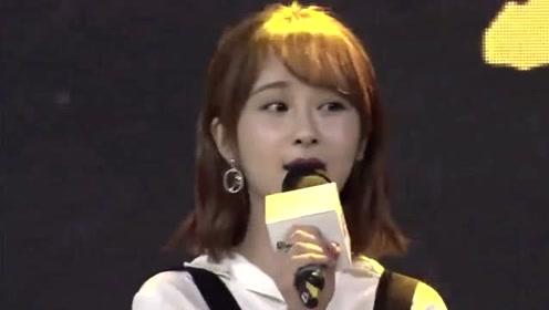 杨紫献唱《雪人》,声音温柔清爽,紫妹认真的样子太美了