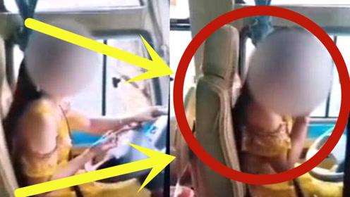 女司机双手离开方向盘玩手机,遭举报反怪乘客:没第一时间提醒!