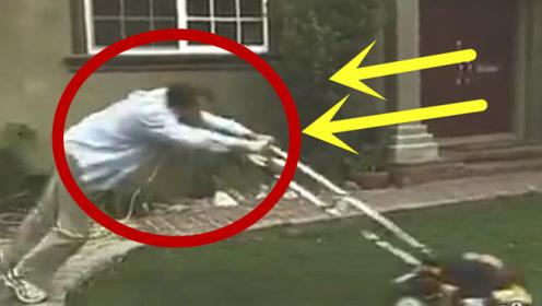 男子准备除草,刚插上电源,3秒后的意外令人猝不及防!