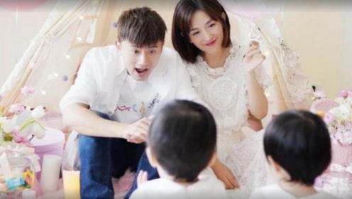 张杰谢娜双胞胎女儿上早教课,当看到正面照时,网友:迷你版张杰