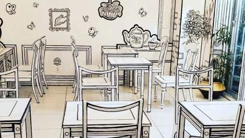 """日本又出新奇设计,""""2D""""咖啡馆走红,宅男宅女都要一探究竟"""