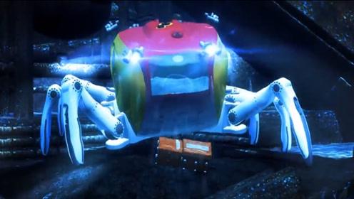 水下深海探测,螃蟹型机器人如果打捞螃蟹时打捞出了它,不要惊讶