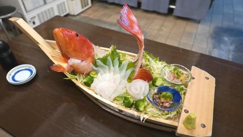 东星斑刺身料理,这顿操作下来一条鱼涨价好几倍!