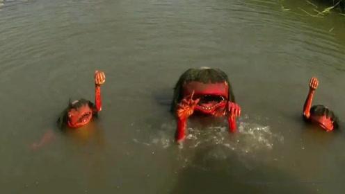 """传说中的""""水猴子""""被孟加拉渔民训练用来捕鱼,原来他们才是高手"""