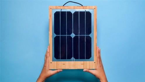 大学生发明家用太阳能板,挂窗户上就能发电,一个能用25年