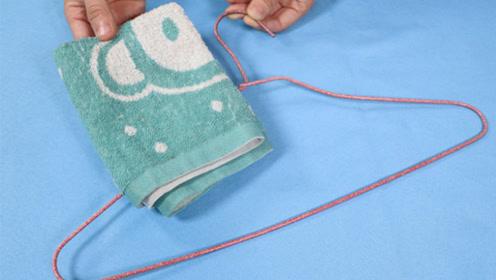 旧毛巾一条也别扔,包在衣架外面,真是厉害了,全家人都夸好