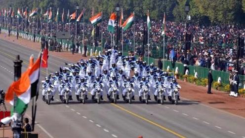 印度阅兵,别总盯着摩托表演,它比你想象的更有内涵