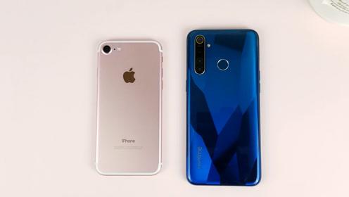 入门级最强?RealmeQ对比iPhone7,谁会翻车?