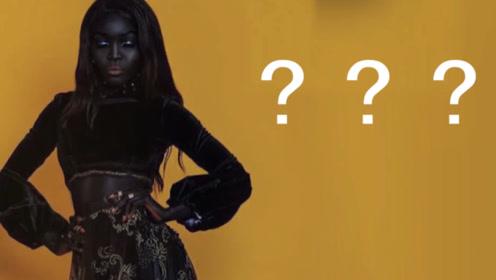 女孩皮肤黝黑被司机嘲笑,如今励志称为最美黑模特,让人爱慕不已