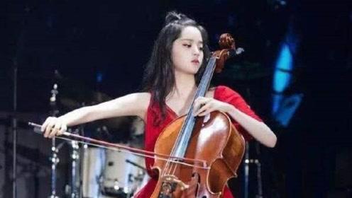 欧阳娜娜红裙惊艳登场,与钢琴家马克西姆跨界合作,养眼又悦耳