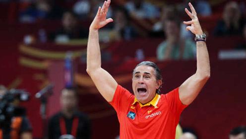 西班牙男篮主教练:要尊重美国队,是他们在引领世界篮球发展