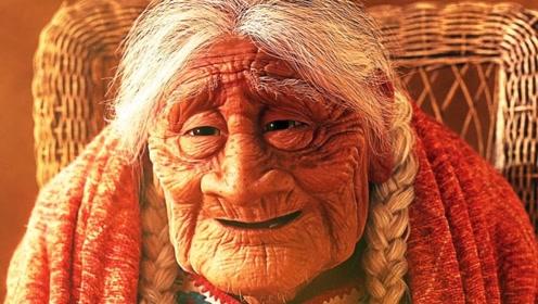 《寻梦环游记》中的老奶奶,年轻时长什么样?电脑高手将其还原