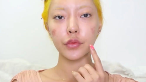 """""""烂脸了""""又怎样,化完妆还是比你高级!"""