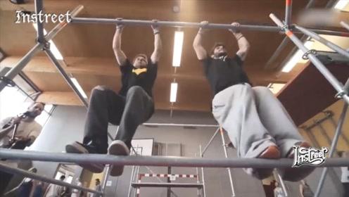 跑酷大神们在训练场地里是如何练习的