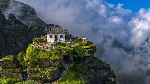 """贵州深山隐匿一座""""天空之城"""",老外忍不住赞叹:不可思议的建筑"""