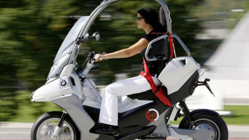 宝马首创不戴头盔的摩托车,可因生命周期太短,如今已成绝版!