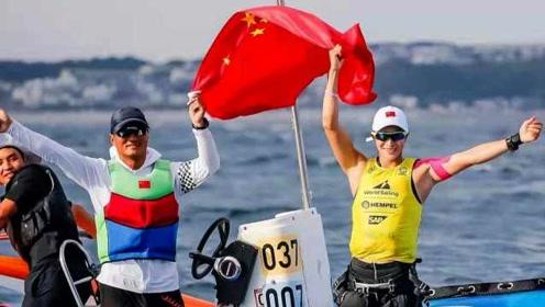 95后少女练帆板逆袭:9年前参赛倒数第二,如今获奥运入场券
