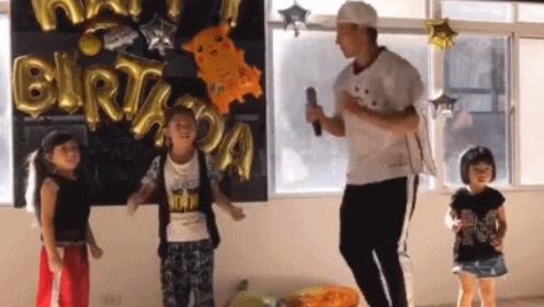 刘畊宏为孩子准备舞蹈生日会 笑称:累并快乐着