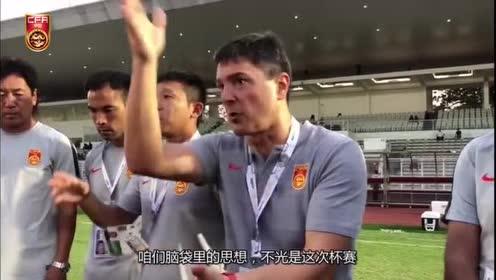 中国U15赢了15比0,外籍主帅盛赞球员:你们太完美了