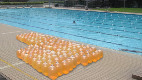 游泳池里到底有多少尿?看到实验结果,你还敢去游泳吗?