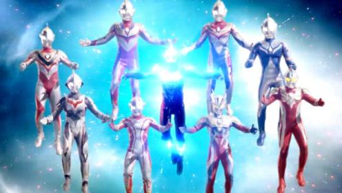 银河格斗即将播出,八个奥特曼附身银河,一个大招终结了艾塔尔迦