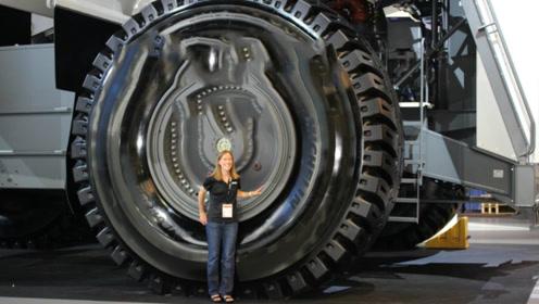 """全球马力""""最强""""的卡车,一天油耗就八万,轮胎能买一辆宝马车"""