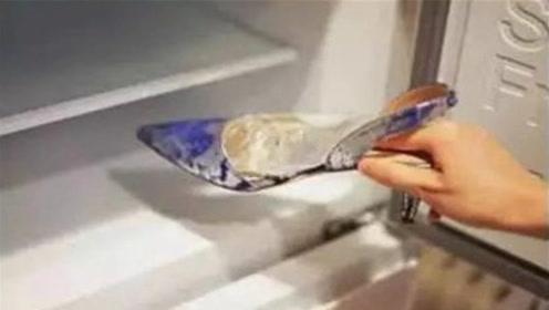 新鞋子塞进冰箱冻一冻,确实是厉害!很多人不懂,早些学会就好了