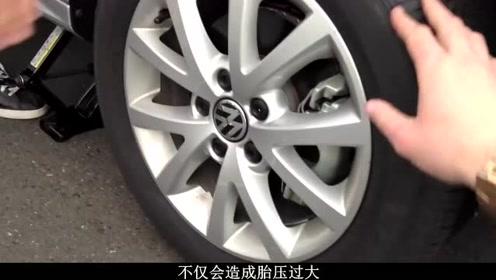 开车时轮胎噪声大,试试这两个方法,上路驾驶安静无胎噪