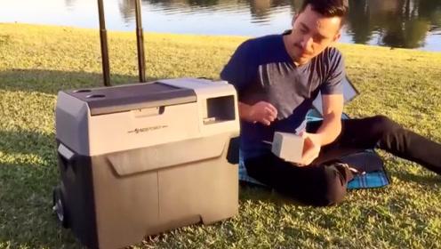 号称全球最智能的冰箱,不仅便携,还能使用太阳能充电!