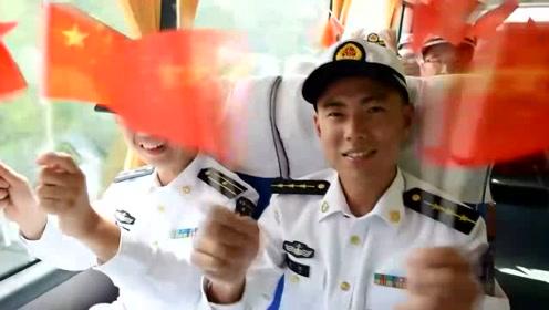 水兵用歌声深情告白祖国