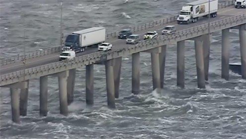 """美国最""""可怕""""桥梁,全长6.9公里没有路肩,老司机见了都害怕"""