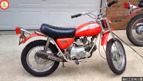 整车made in japan,启动试驾72年的本田越野摩托