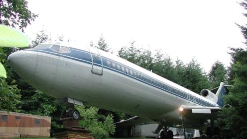 中国大妈跳广场舞的时间,他来建造飞机豪宅,这一住就是20年!