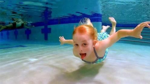 为何有些人能在水下睁眼,不怕有什么危害吗?看后算是明白